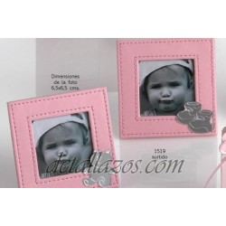 Marcos de fotos de piel rosa