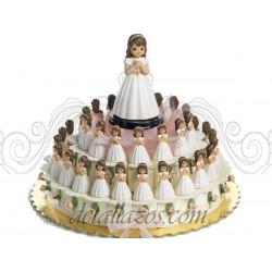 Montajes niña de comunión con rosario