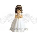 Figuritas niña de comunión con rosario