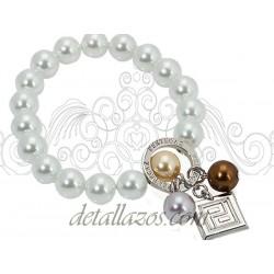 Pulseras de perlas para mujer de pertegaz