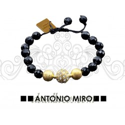 Pulsera de perlas negras Antonio Miro