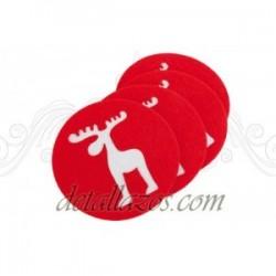 posavasos navideños personalizados