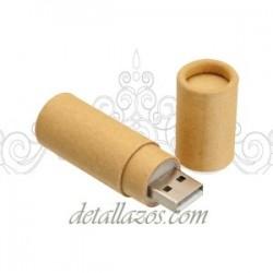 Memorias USB cartón reciclado