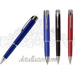 Bolígrafos metálicos extensibles