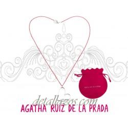 Collar de corazón Agatha Ruiz de la Prada