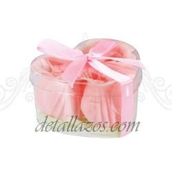 Jabones para bodas de rosas