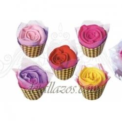 Toallas rosas