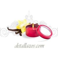 Velas para bodas de vainilla