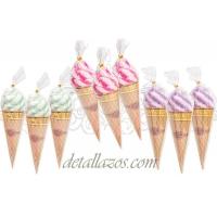 Toallas copa helados