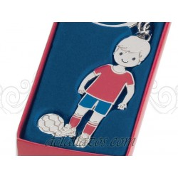 Llavero futbolista la roja