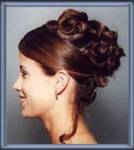 Peinados y recogidos altos de novia 5 fotos de 11 for Recogidos altos para novias
