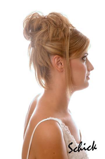 Peinados y recogidos altos de novia 7 fotos de 11 - Recogidos altos para bodas ...