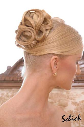 Peinados de novias for Recogido castana