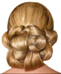 peinados de novias bajos