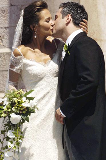boda de david bustamante y paula echevarria, vestidos de novias