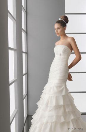 vestidos de novia de palabra de honor 4 fotos de 74