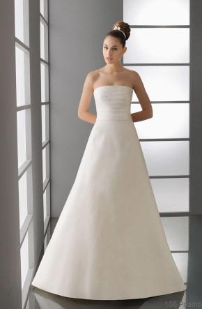 Vestido novia sencillo barcelona