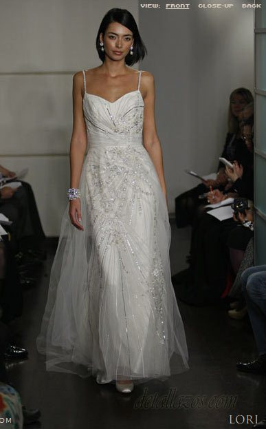 Badgley y Mischka novias 2011