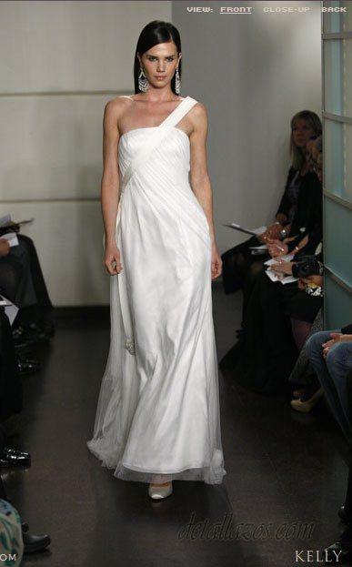 badgley mischka trajes de novias