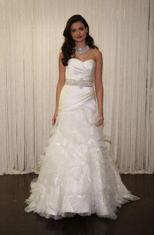 badgley mischka vestidos de novias