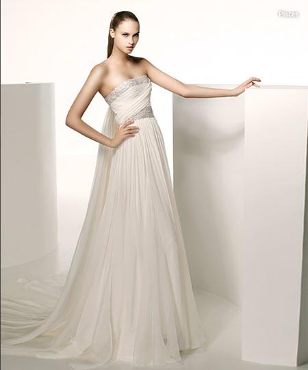Elie Saab coleccion 2009 Vestido de novia, novias, Vestido de boda ...