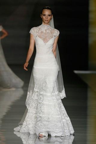 vestidos de alta costura de novia 2012 diseñadores y firmas