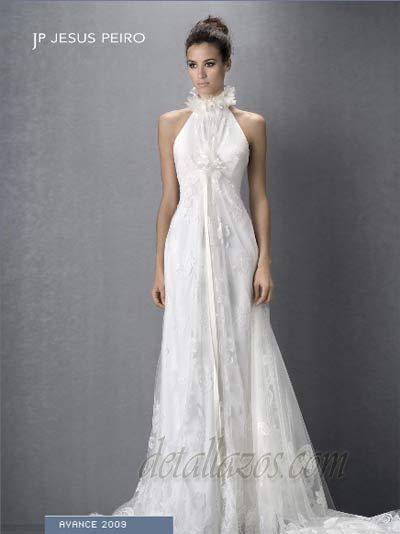 jesus peiro novias catalogo 2009, vestido de novia aire collection