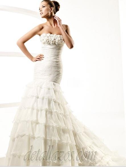 Vestidos de novia la sposa 2011