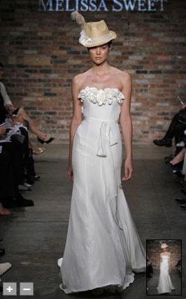melissa sweet diseñadora de trajes de novias