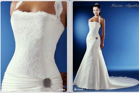 Vestidos de novia mas sencillos