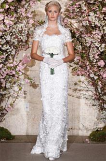 Oscar de la Renta trajes de novias