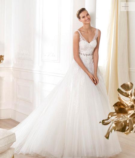 pronovias 2014 vestido lauris modelo lavens - vestido de novia