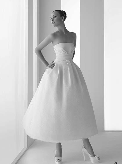 Vestidos novia cortos rosa clara