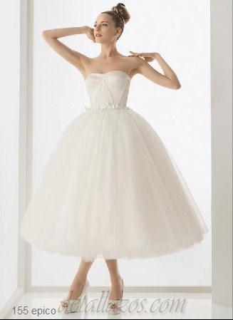 vestidos de novia cortos 76 de 88 fotos