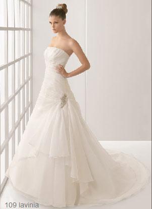 rosa clará colección 2012 - vestido de novia rosa clará vestidos