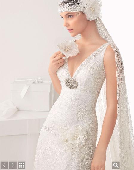 Rosa Clará vestidos de novias