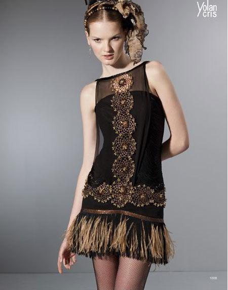 Yolan Cris vestidos de fiesta 2010