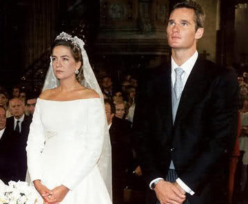 Vestido novia infanta cristina caprile