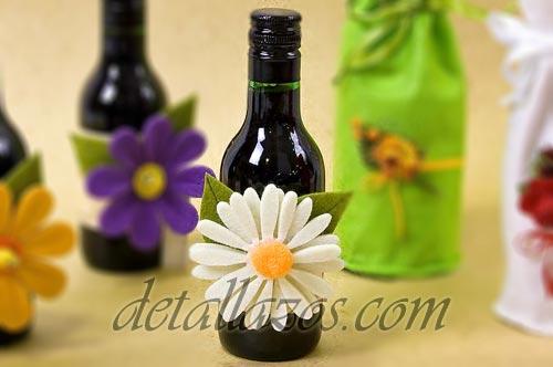 decoracion para botellas vino para bodas - regalos de boda ...