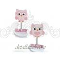 Portafotos de Buhos rosas