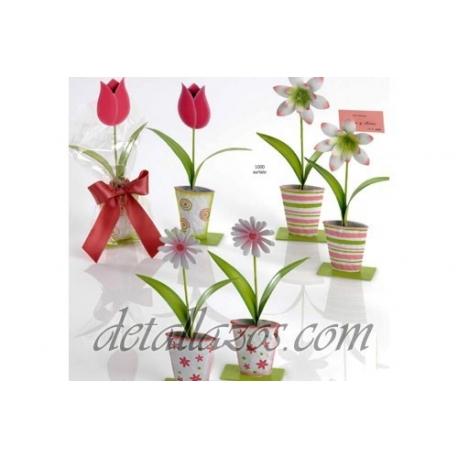 Porta Fotos Flor