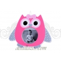Marco de fotos buhos en rosa