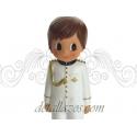 Portafotos niño con traje blanco