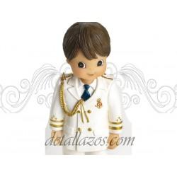 Portafotos niño almirante casaca blanca