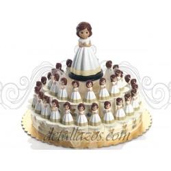 Montajes niña de comunión orando