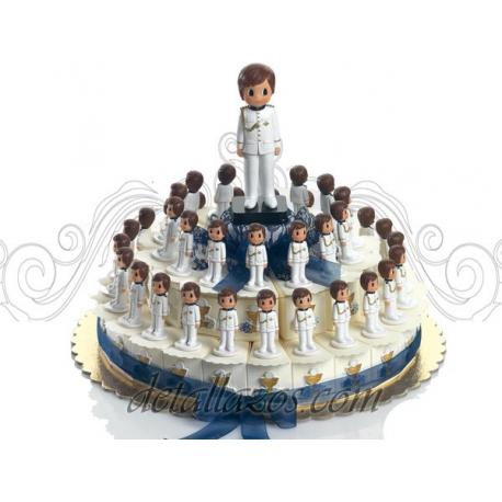 Montajes niño de almirante blanco