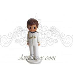 Figuritas niño de almirante en blanco