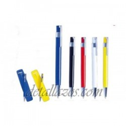 Bolígrafo metal funda