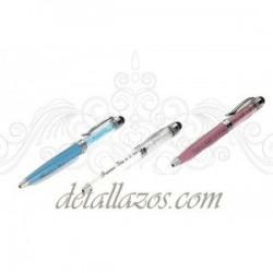Bolígrafos Para Bodas De Cristalitos