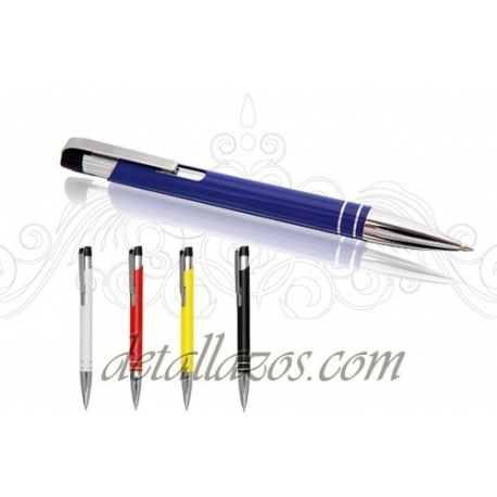 Bolígrafos metálicos elegantes